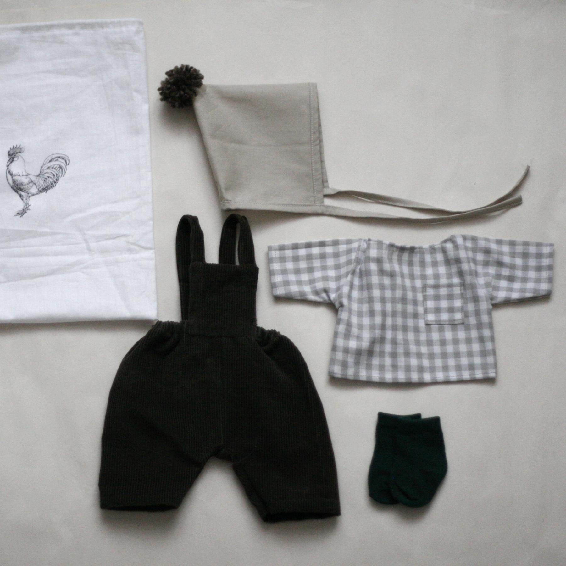 Set oblečení pro větší panenku E