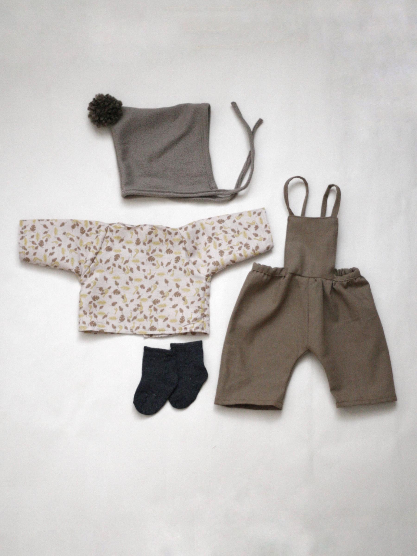 Set oblečení pro větší panenku D