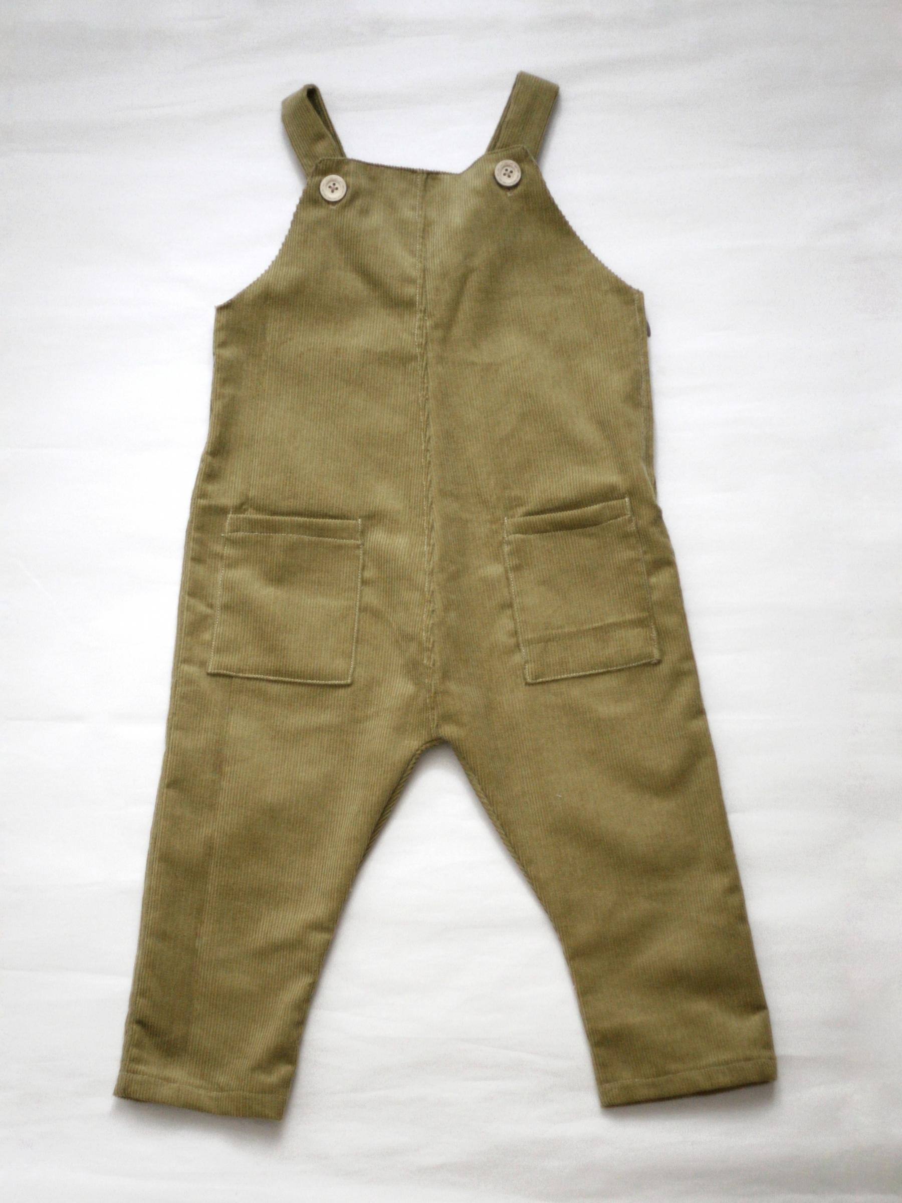 Manšestrové kalhoty hořčičné