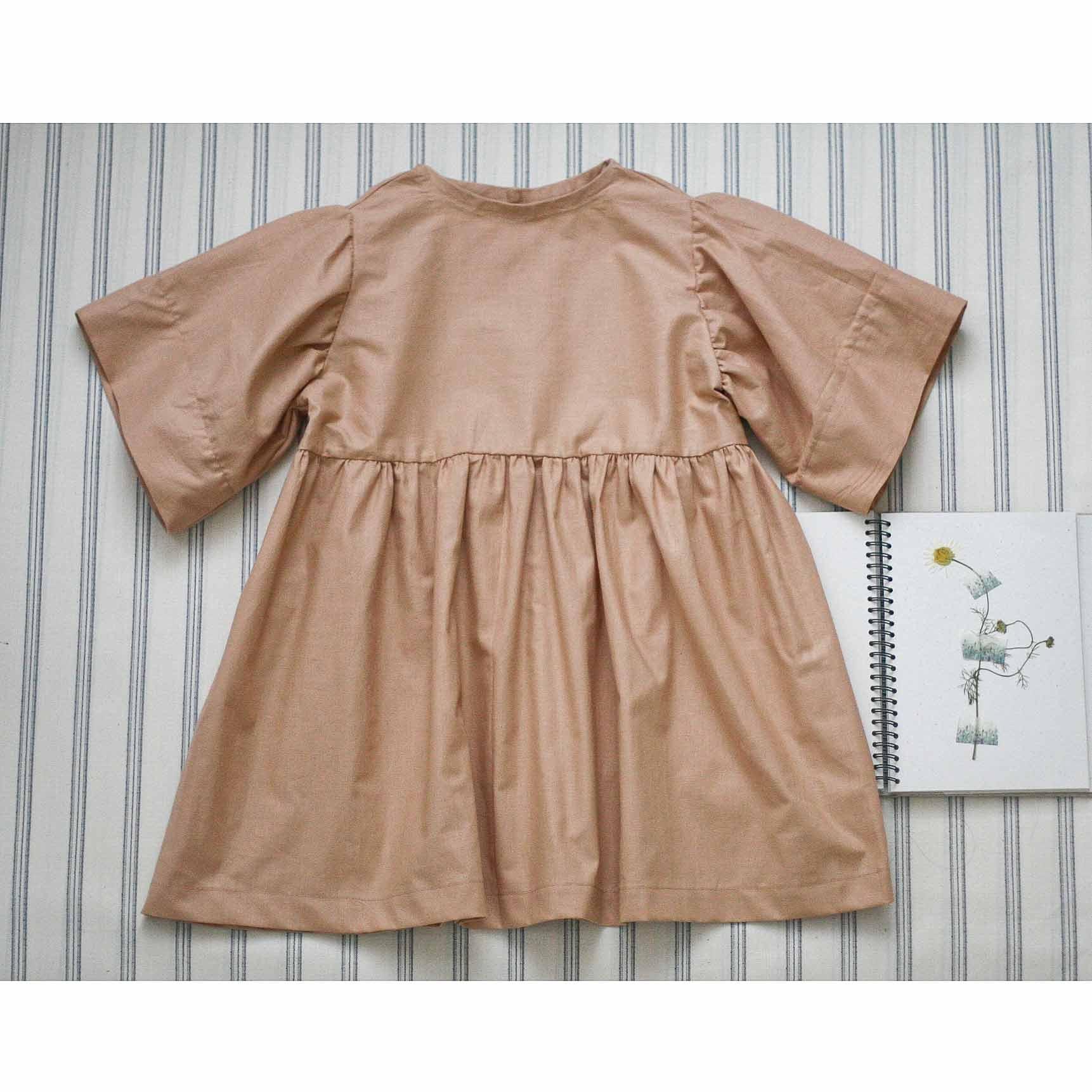 Šaty starorůžové
