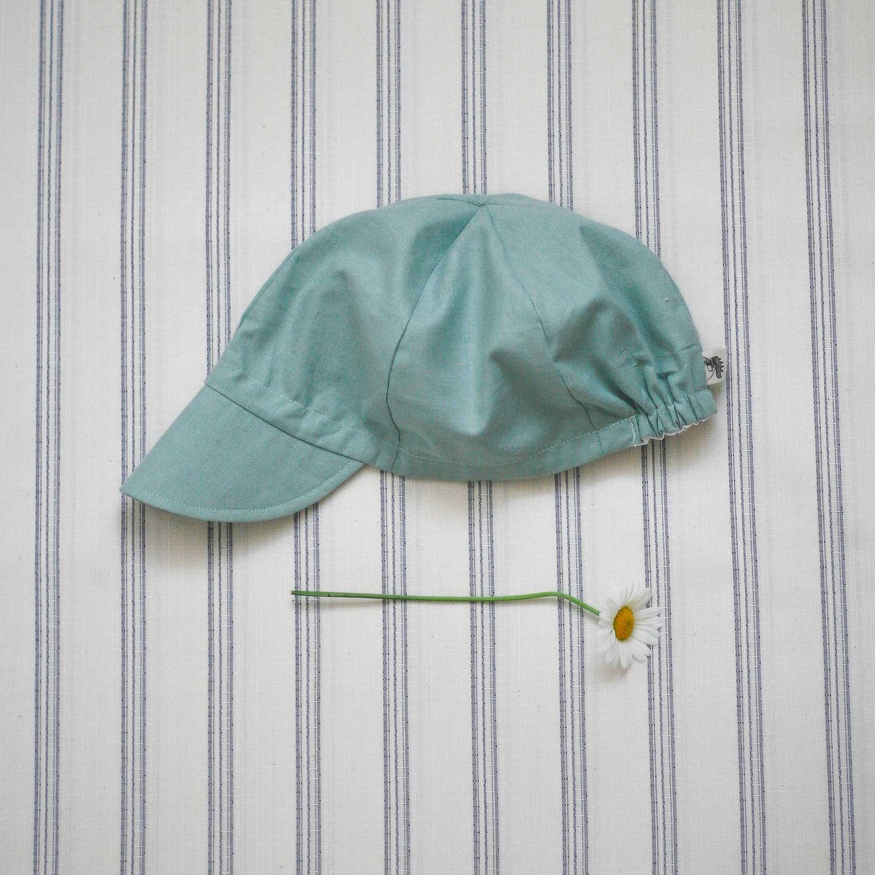 Letní čepice zelená