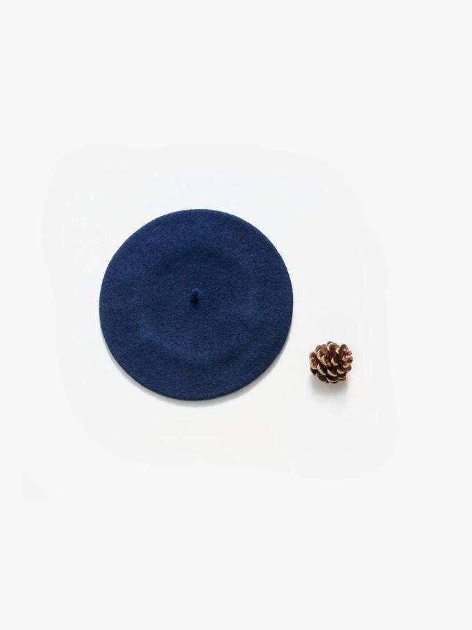 baret modrý