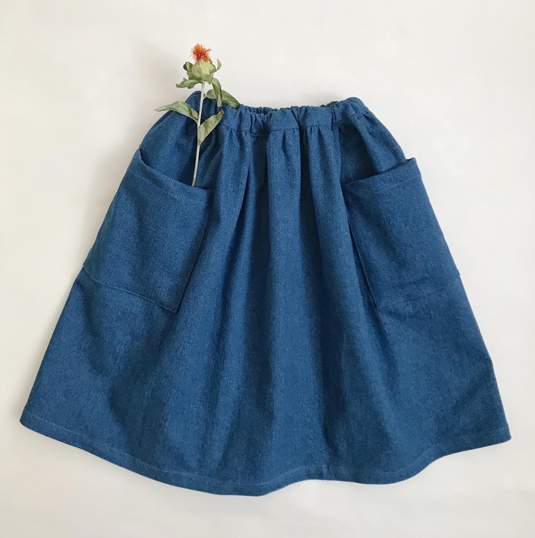 Denimová sukně