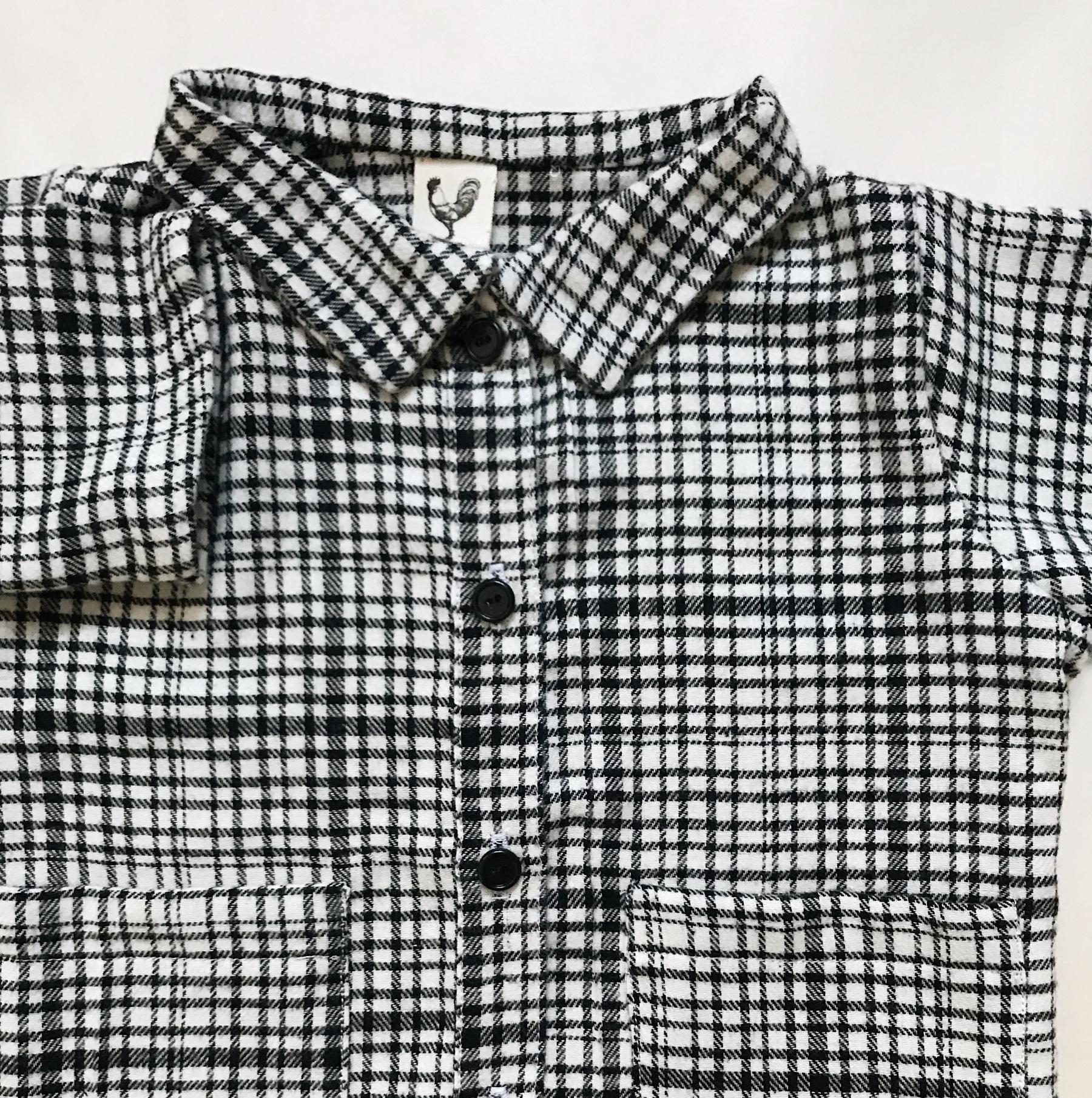 Flanelová košile s kapsami